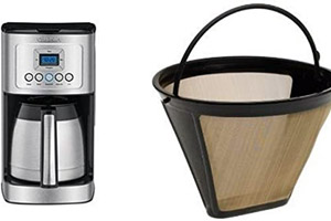 Cuisinart charcoal water filter to remove chlorine