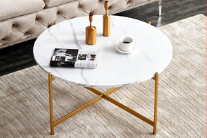 """InsifoHome Modern 36"""" Round Table"""