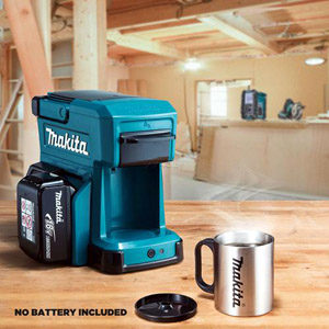 Makita Coffee Maker with Battery