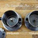 Vietnamese phin coffee filter