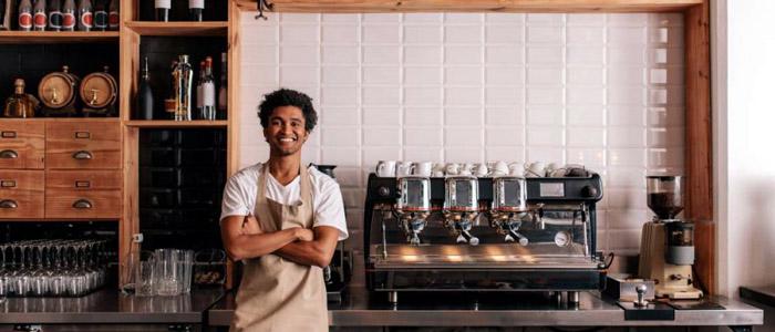 Rancilio commercial espresso machine for coffee shop