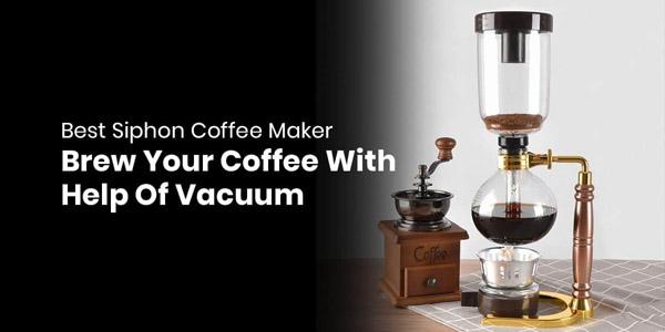Bodum siphon coffee maker
