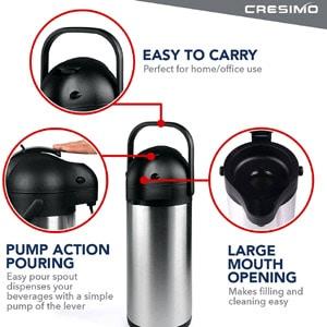 Cresimo coffee thermos dispenser