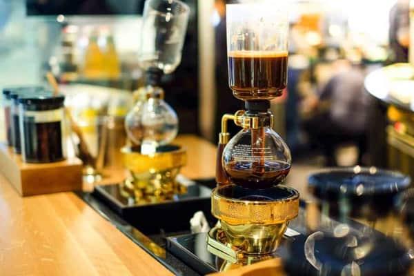 siphon vacuum coffee maker